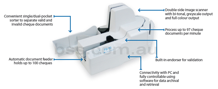 cheque scanner fuji fb-20 info
